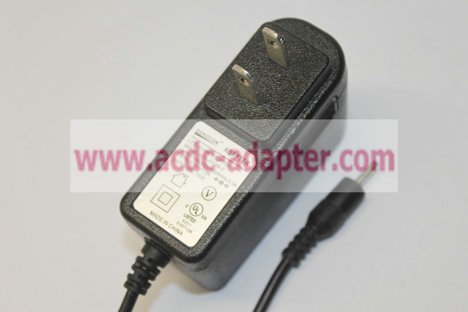 AC Adapter DC Power Supply Charger Cord For Dokocom STC-A515B-Z STC-A515B-2 ITE